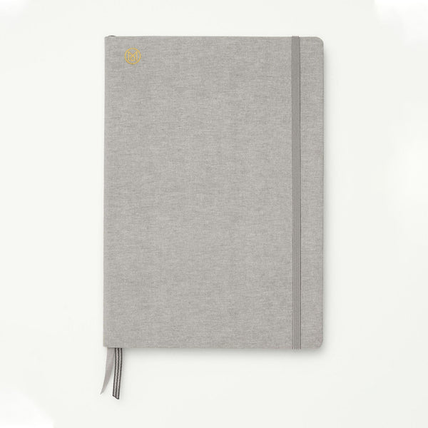 Monocle Hardcover Notebook B5 - Light grey