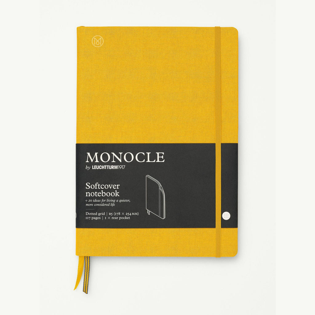 Monocle Softcover Notebook B5 - Yellow