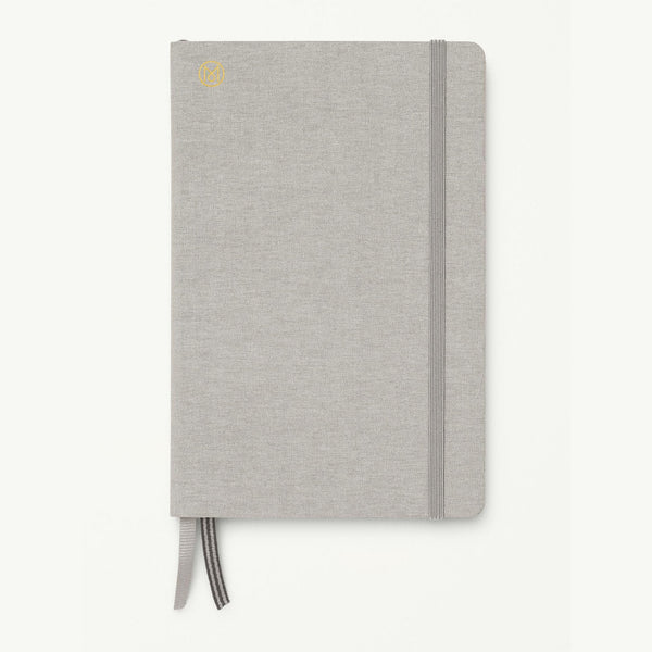 Monocle Hardcover Notebook B6 - Light Grey