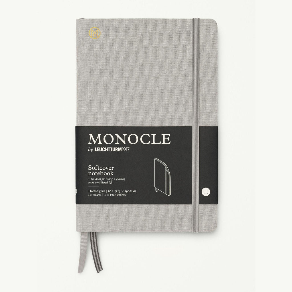 Monocle Softcover Notebook B6 - Light Grey
