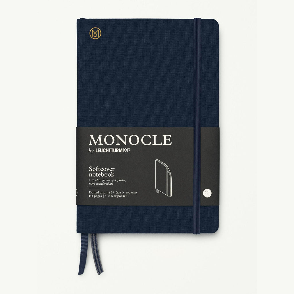 Monocle Softcover Notebook B6 - Navy