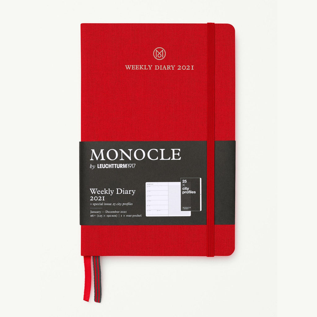Monocle Weekly Diary B6 - Red