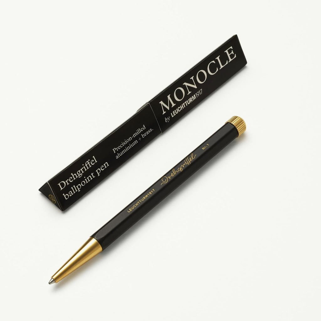 Monocle Drehgriffel - Black - Black Ink