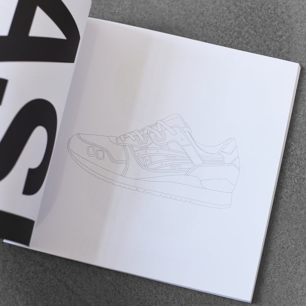 Sneakers Coloring Book