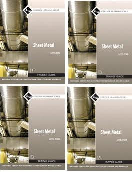 NCCER SHEET METAL BUNDLE