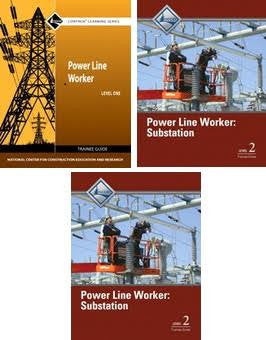 NCCER POWER LINE WORKER: SUBSTATION BUNDLE