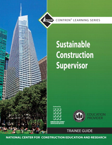NCCER Sustainable Construction Supervisor