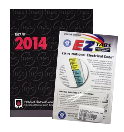 NATIONAL ELECTRICAL CODE 2014 PAPERBACK WITH TABS BUNDLE