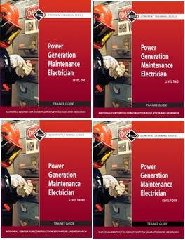 NCCER POWER GENERATION MAINTENANCE ELECTRICIAN BUNDLE