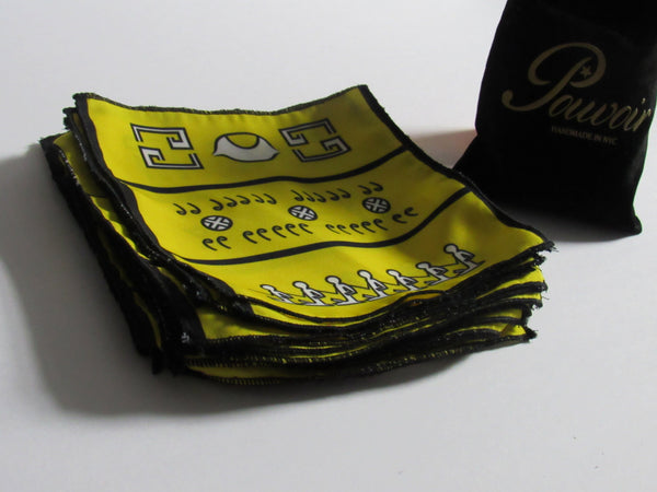 """Hiero"" pocket square"