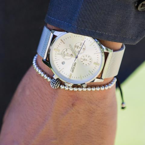 MESH CHRONO - Megir Watch