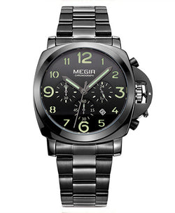 LOW-FLY CHRONO ARMY - Megir Watch