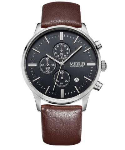 QUARTZ CHRONO - Megir Watch