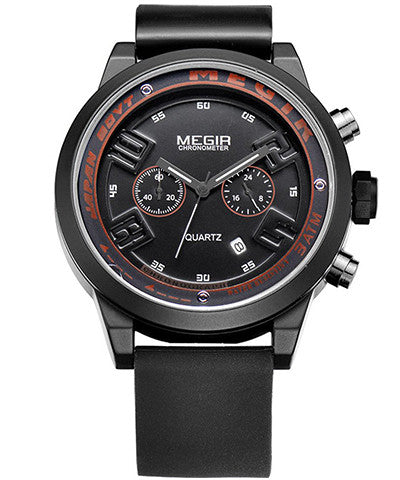 BLACK EAGLE - Megir Watch