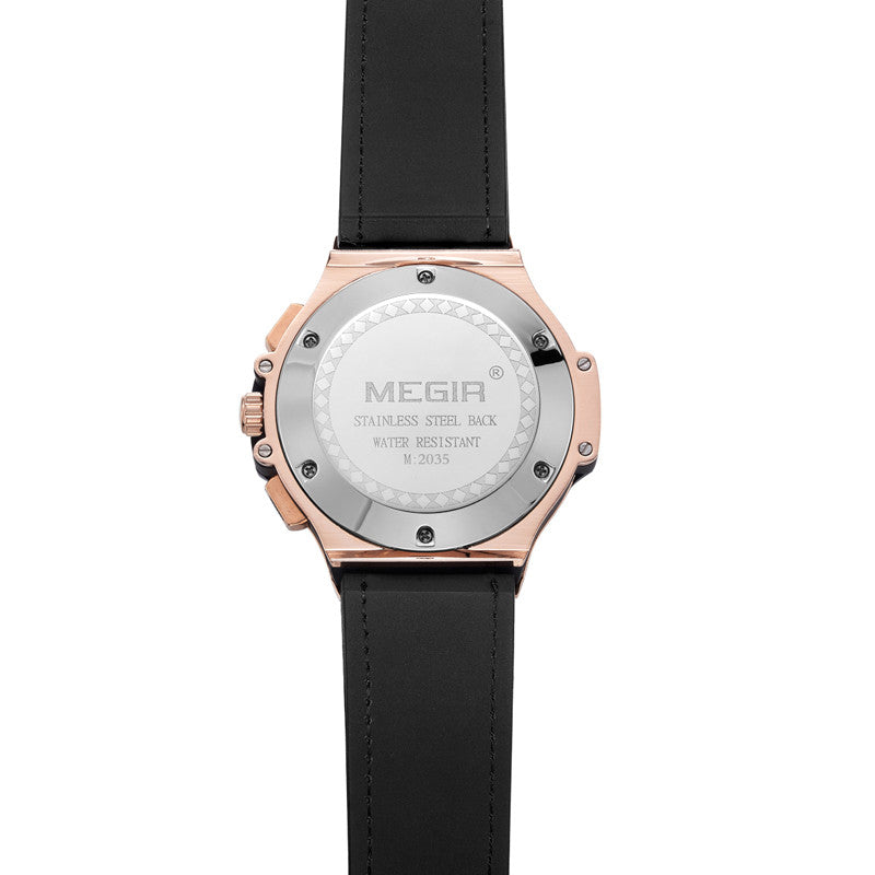 NAUTICAL CARBON - Megir Watch