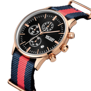 YACHTSMAN CHRONO - Megir Watch