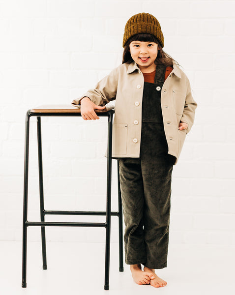 Foundry Jacket Unisex Children's Cotton