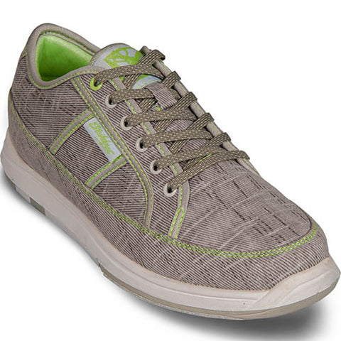 KR IVY LIGHT GREY/ LIME - SIZE 8.5