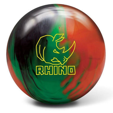 BRUNSWICK RHINO BLACK/GREEN/ORANGE - 14LB