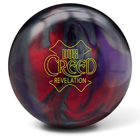 DV8 CREED REVELATION PURP/CHAR/RED - 16LB