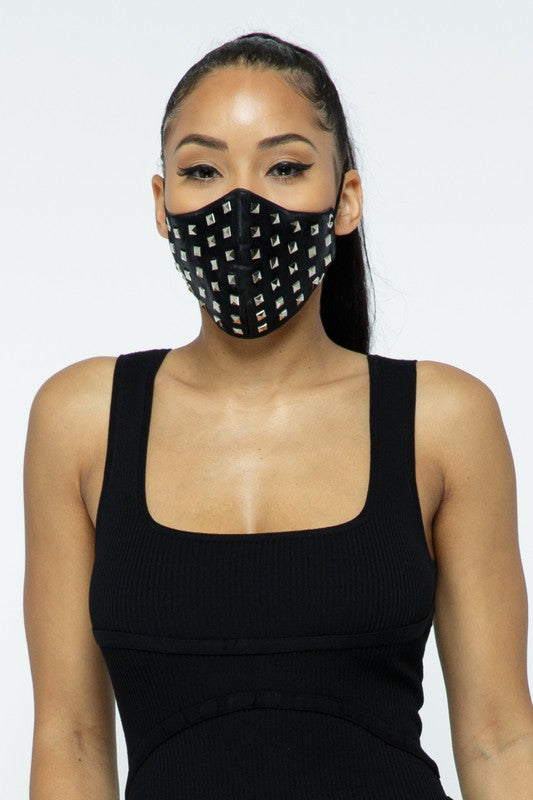 Studed Face Mask