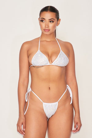Believe It Bikini Top