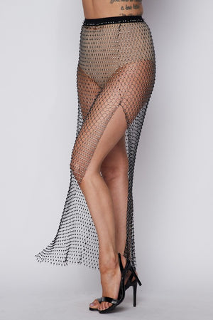 Wicked Rhinestone Skirt