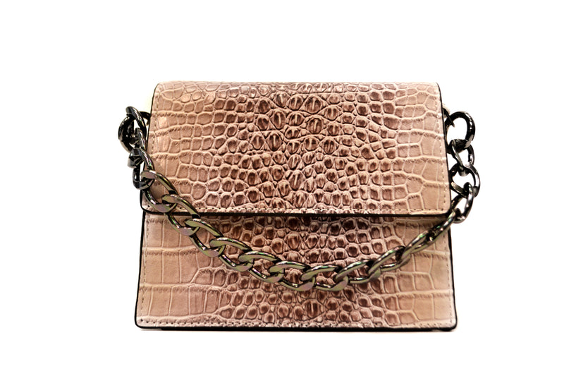 Chain Top Handle Bag