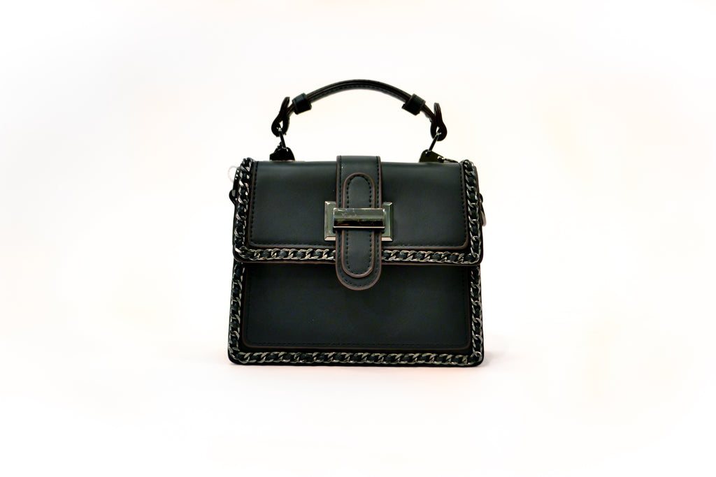 Mini Faux Leather Bag