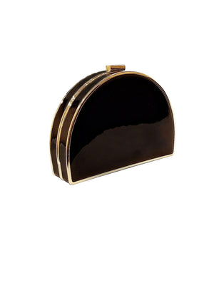 Half Circle Metallic Clutch