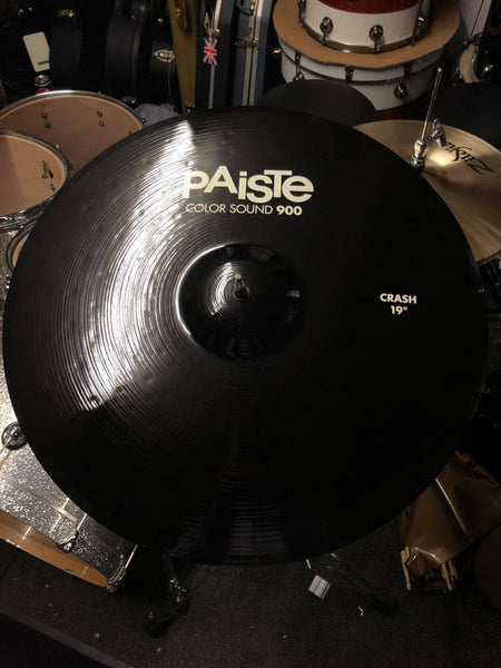 "Paiste Colorsound 900 19"" Crash Black"