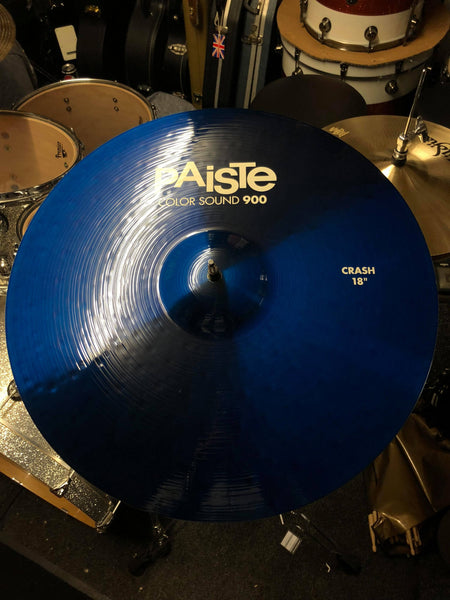 "Paiste Colorsound 900 18"" Crash Blue"
