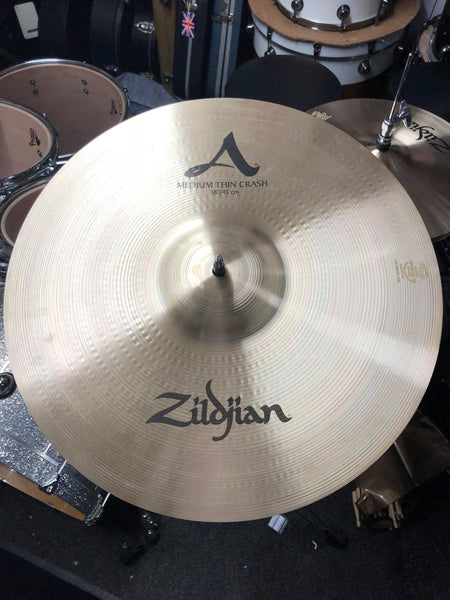 "Zildjian Avedis 18"" Medium Thin Crash"