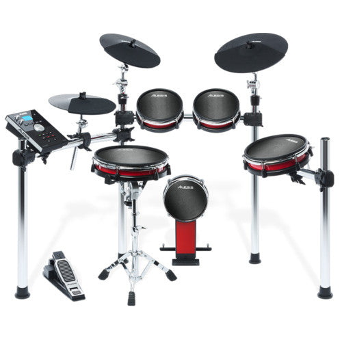 Alesis Crimson Mesh Electronic Drum Kit - 5 Piece Electronic Drum Kit with Mesh Heads