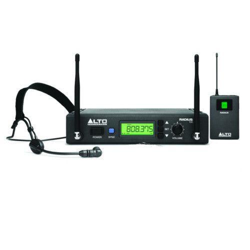 Alto Radius 100H Wireless Headset Microphone System