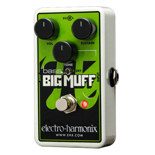Electro-Harmonix Nano Bass Big Muff Pi - Distortion/Sustainer