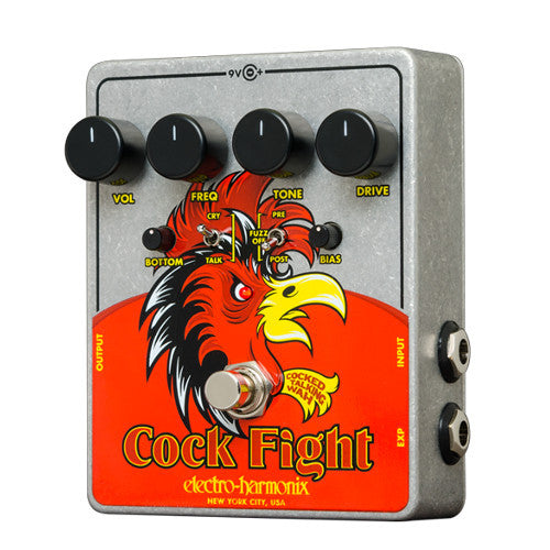 Electro-Harmonix Cock Fight - Cocked Talking Wah