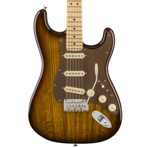 Fender American Exotic Limited Edition Shedua Top Stratocaster