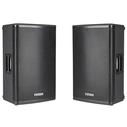 Fender Fortis (Pair) - Active Two-Way 1300 Watt Powered Loudspeakers - Bluetooth Connectivity