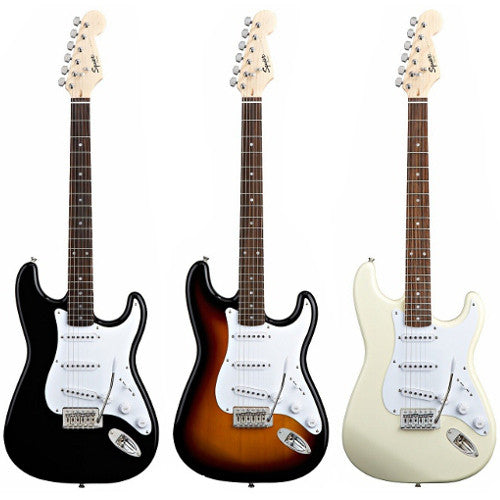 Fender Squier Bullet Strat with Tremolo - Available in a Variety of Colours