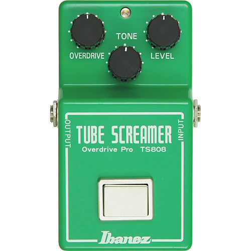 Ibanez TS808 Reissue Tube Screamer Overdrive Pedal