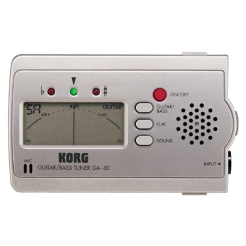 Korg GA-30 Guitar & Bass Tuner - Special Clearance Price