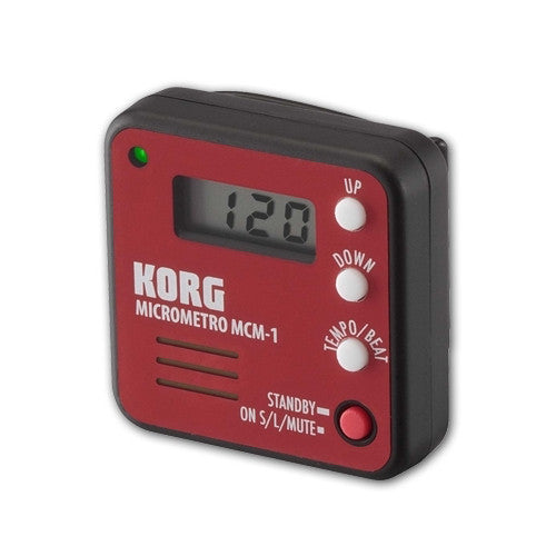 Korg MCM-1 Micrometro Digital Metronome - Black & Red - Special Clearance Price!