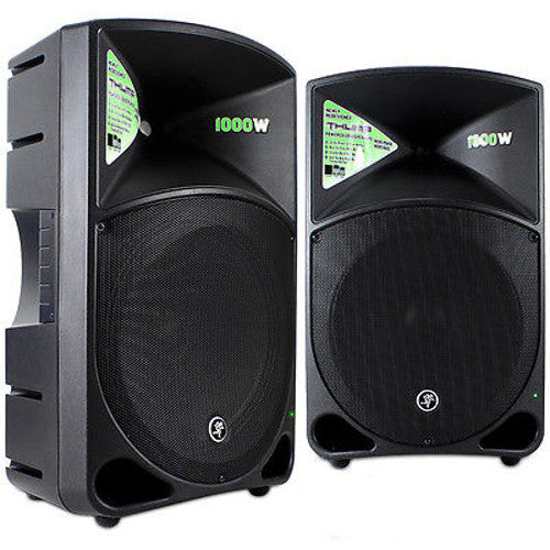 Mackie Thump (Pair) - Active 1000 Watt Powered Loudspeakers