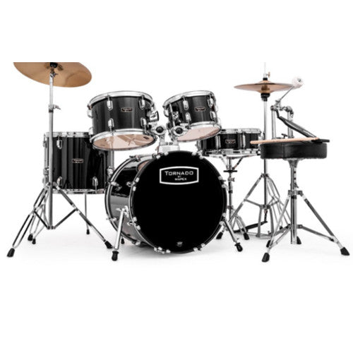 Mapex Tornado III Drum Kit - Fully Tuned and Professionally Set-up
