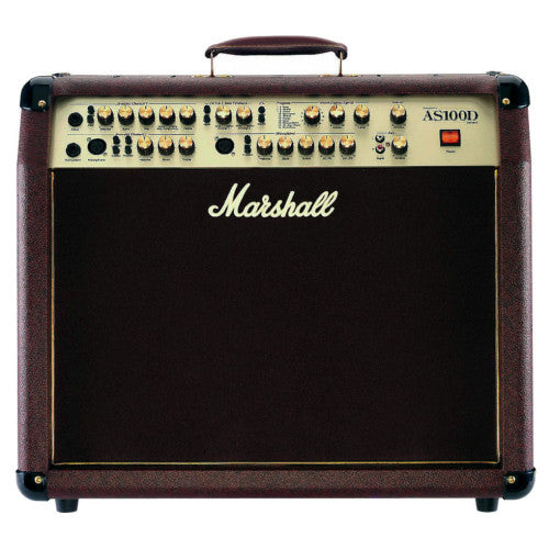 Marshall AS100D 100 Watt Acoustic Guitar Combo with 16 Digital Effects