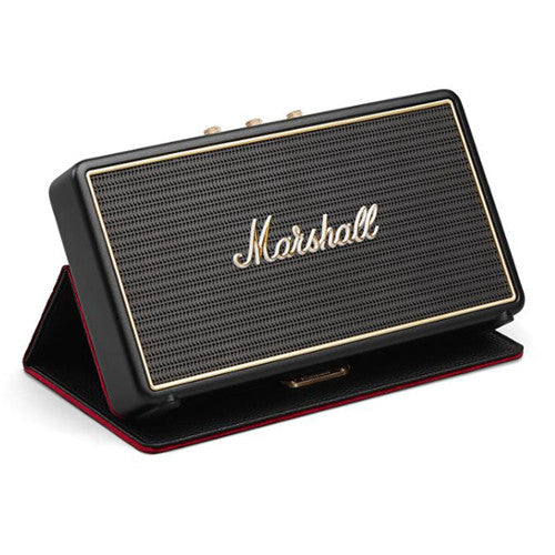 Marshall Stockwell Portable Speaker with Flip Cover - Rechargeable Bluetooth Loudspeaker