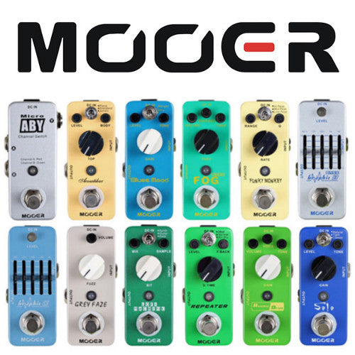 Mooer Effects Pedals - Wide Range In-Store