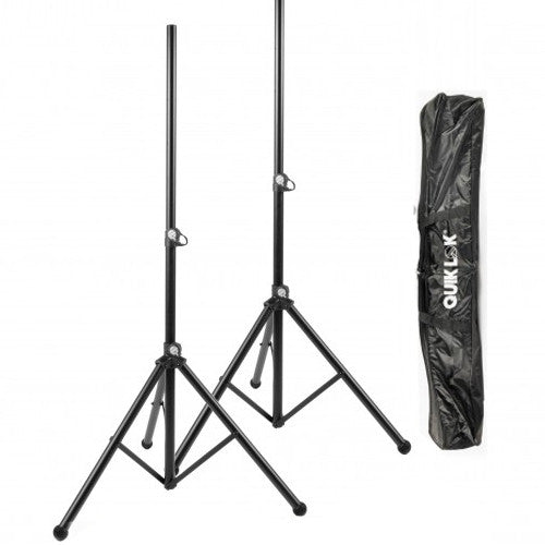 Quiklok Speaker Stand (Pair) with Carry Bag
