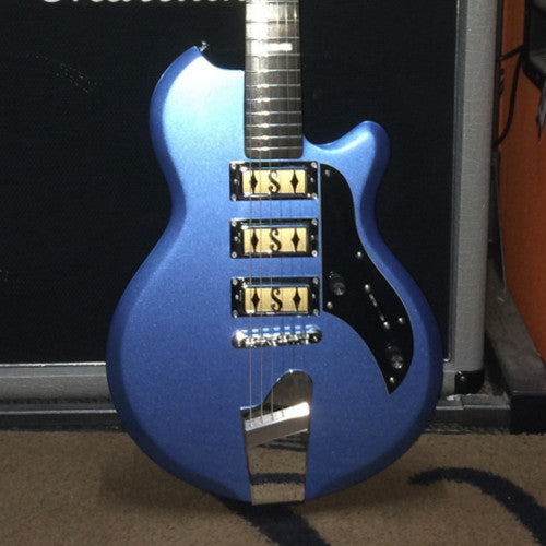 Supro Island Series Hampton in Blue Metallic